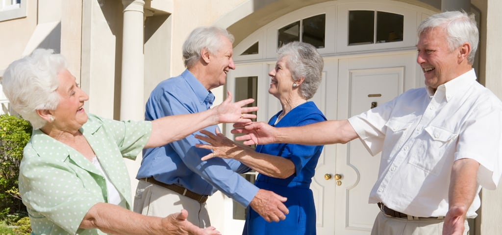 senior homeowner
